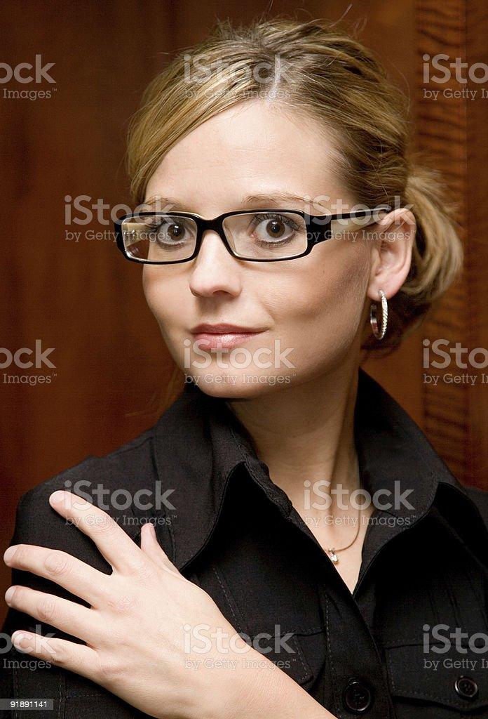 Female Business Portrait stock photo