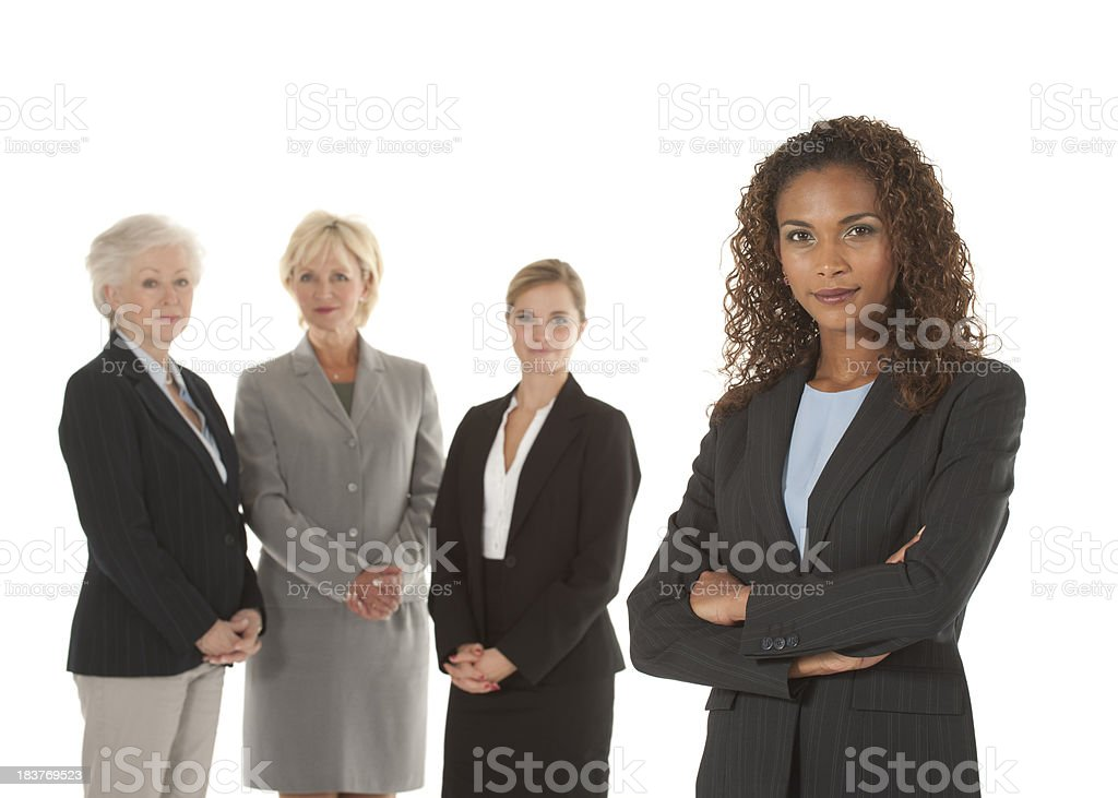 Female Business Team royalty-free stock photo