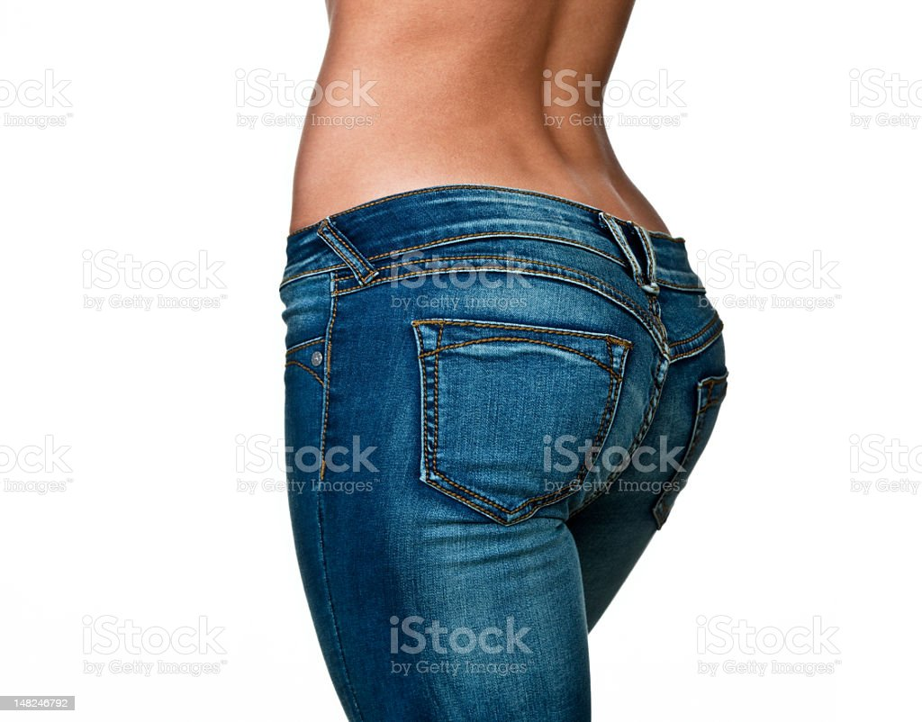 Female buttocks stock photo
