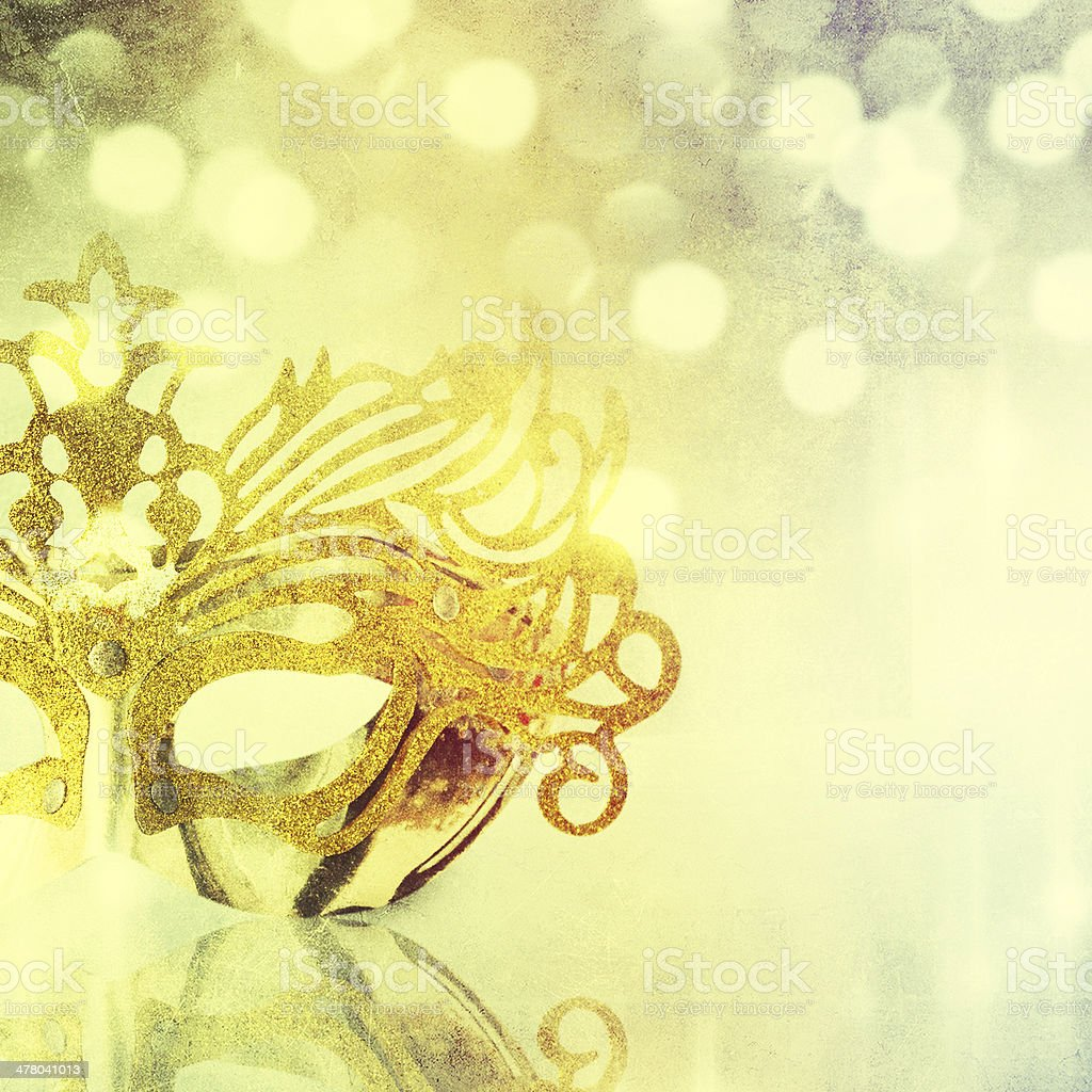 female carnival mask royalty-free stock photo