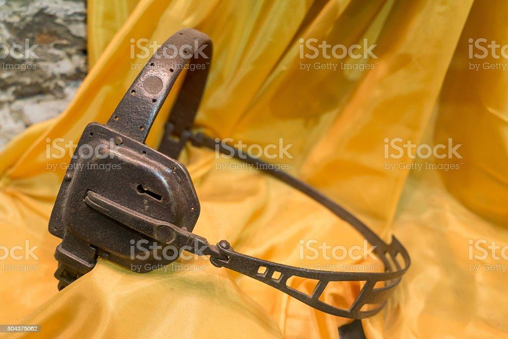 Female chastity belt stock photo