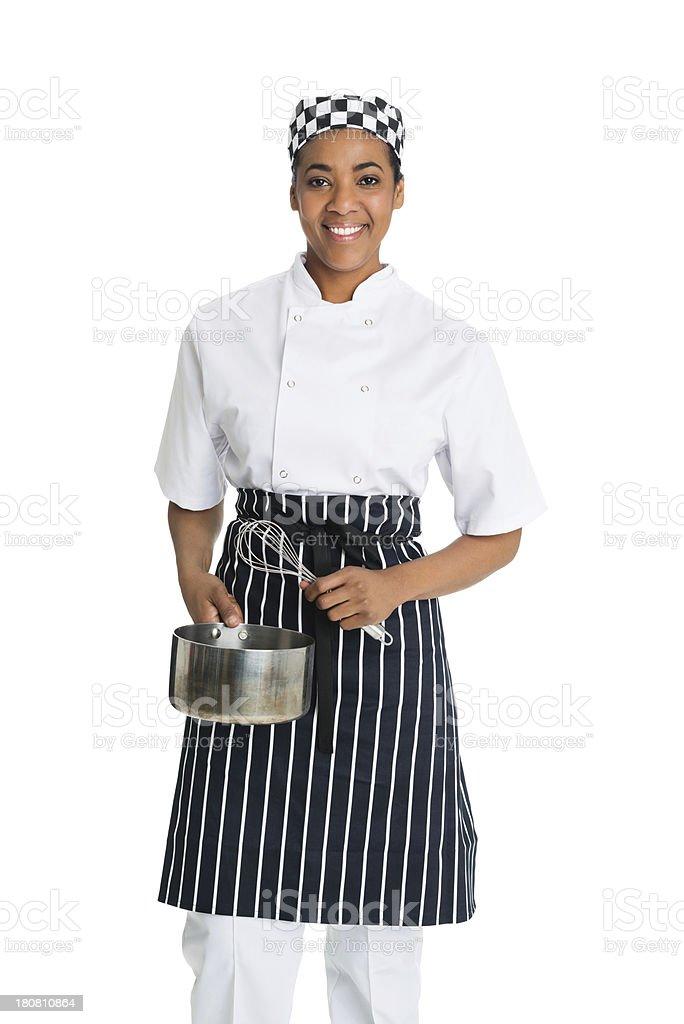 Female Chef royalty-free stock photo