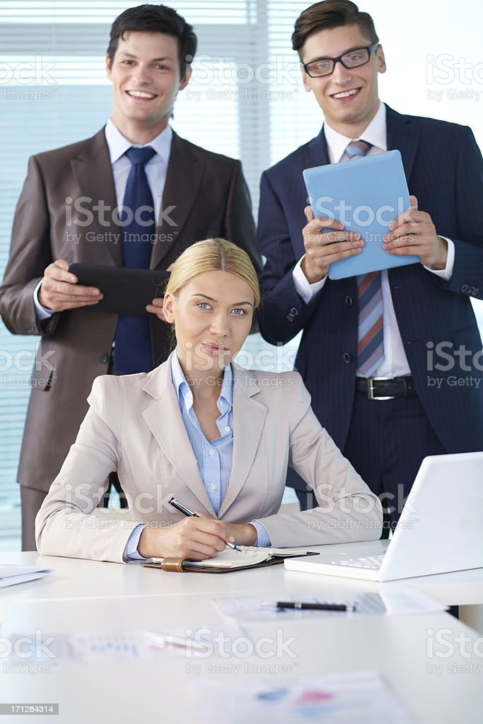 Female chief royalty-free stock photo