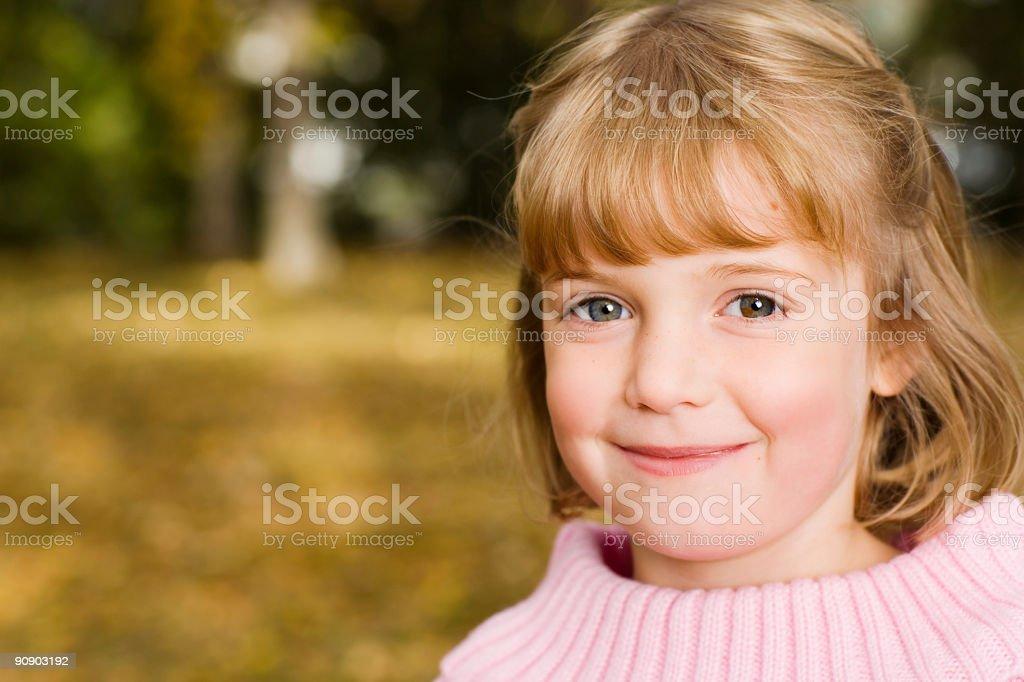 Female Child stock photo