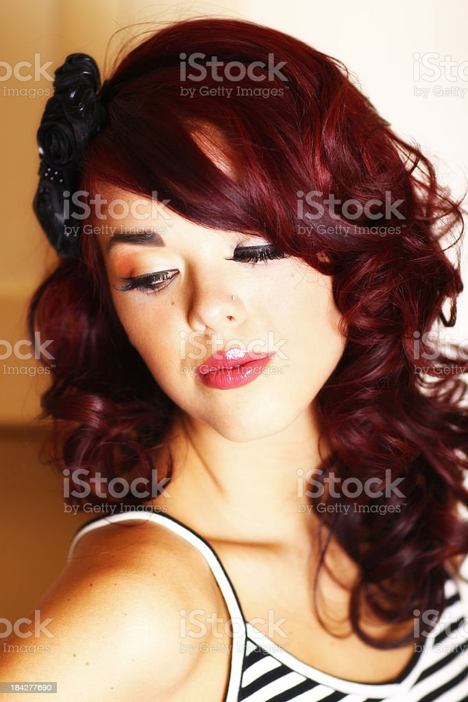 Female Close Up royalty-free stock photo