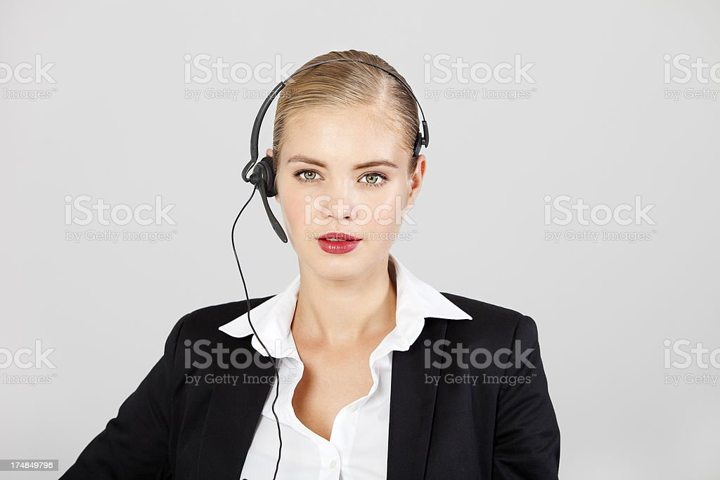 Female Customer Service royalty-free stock photo