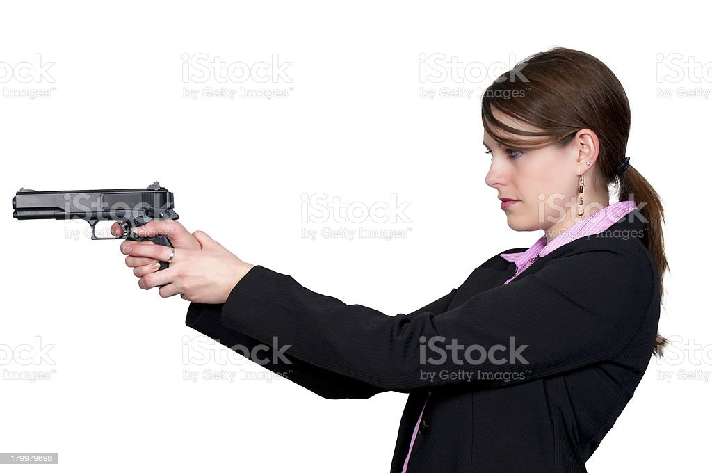 Female Detective royalty-free stock photo