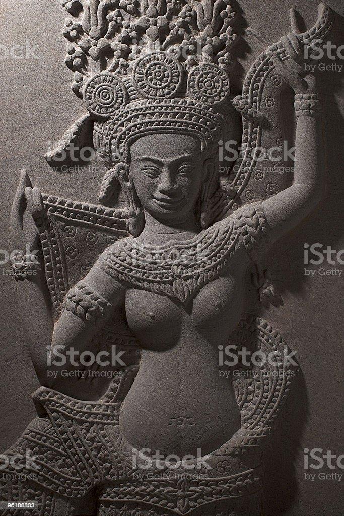 Female divinity goddess royalty-free stock photo