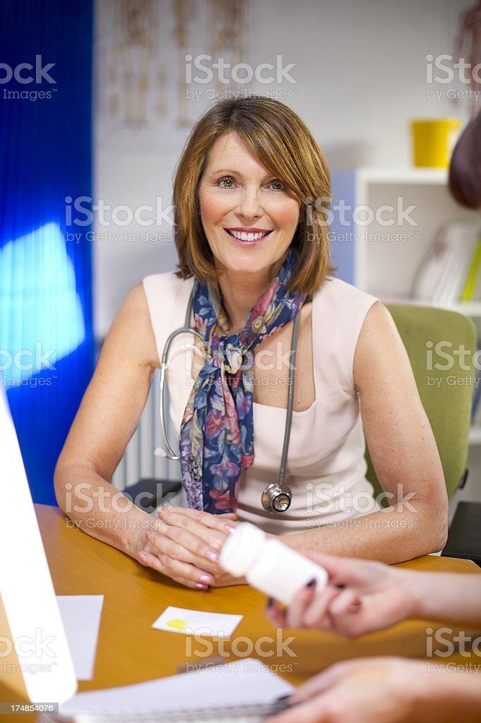 female doc royalty-free stock photo