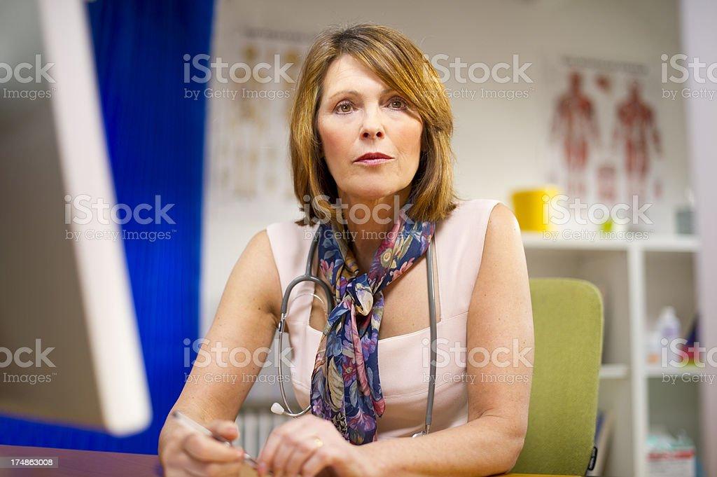 female doc portrait royalty-free stock photo