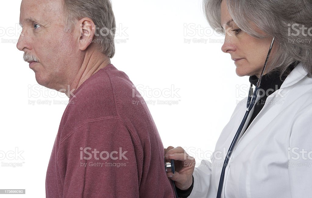 Female Doctor and Patient (XXL) royalty-free stock photo
