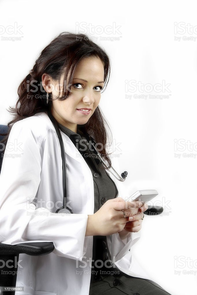 Female doctor royalty-free stock photo