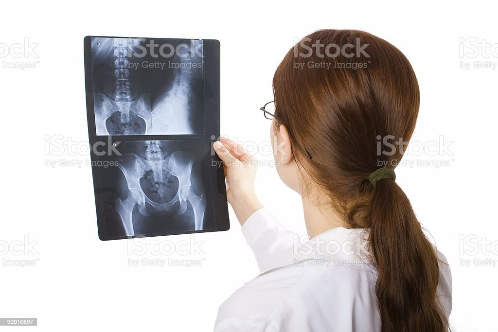 Female doctor stock photo