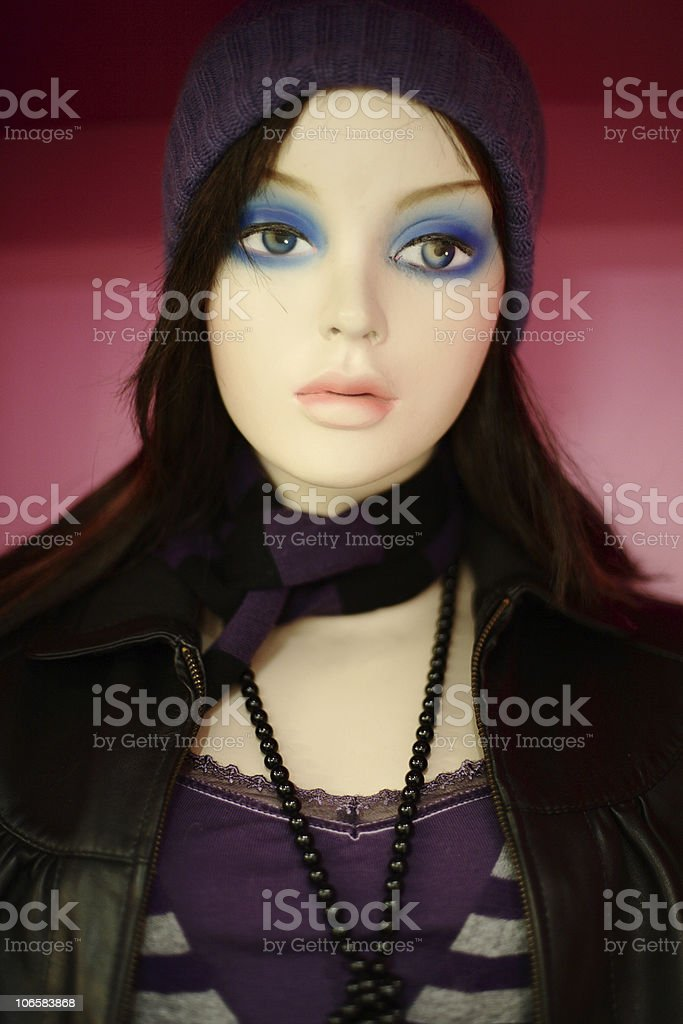 Female  Dummy in the store stock photo