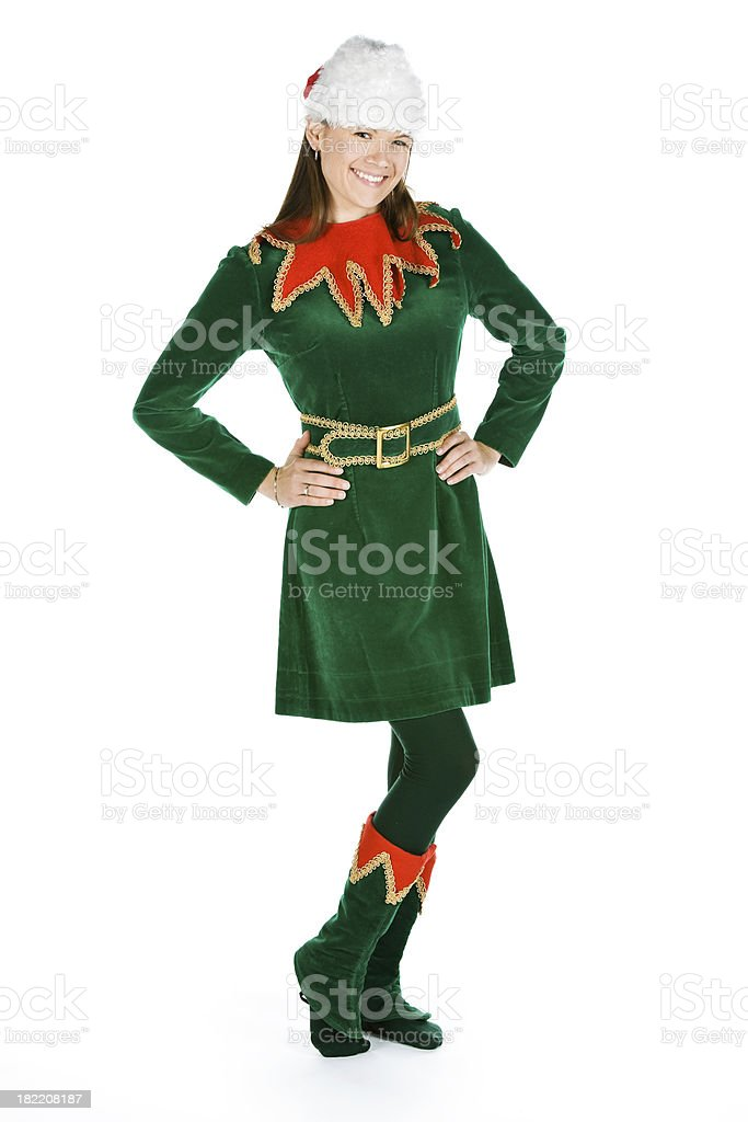 Female elf stock photo