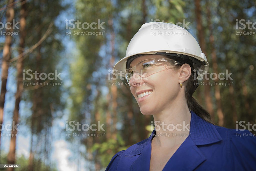 Female Engineer stock photo