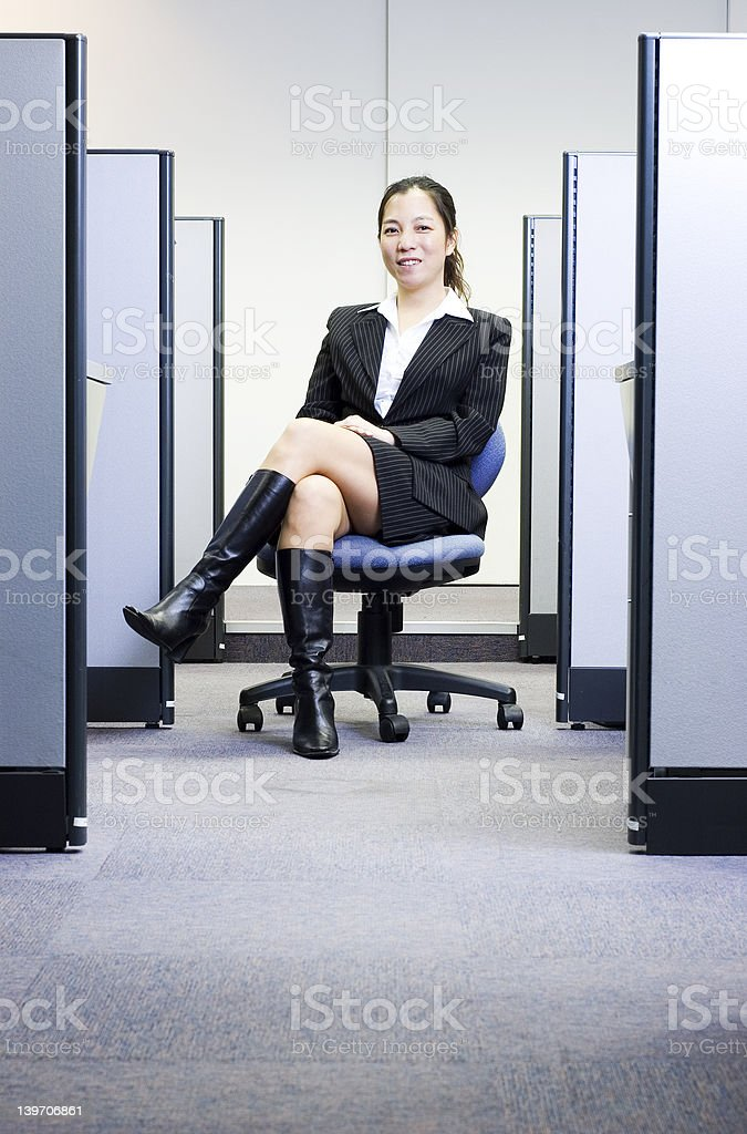Female executive in office royalty-free stock photo