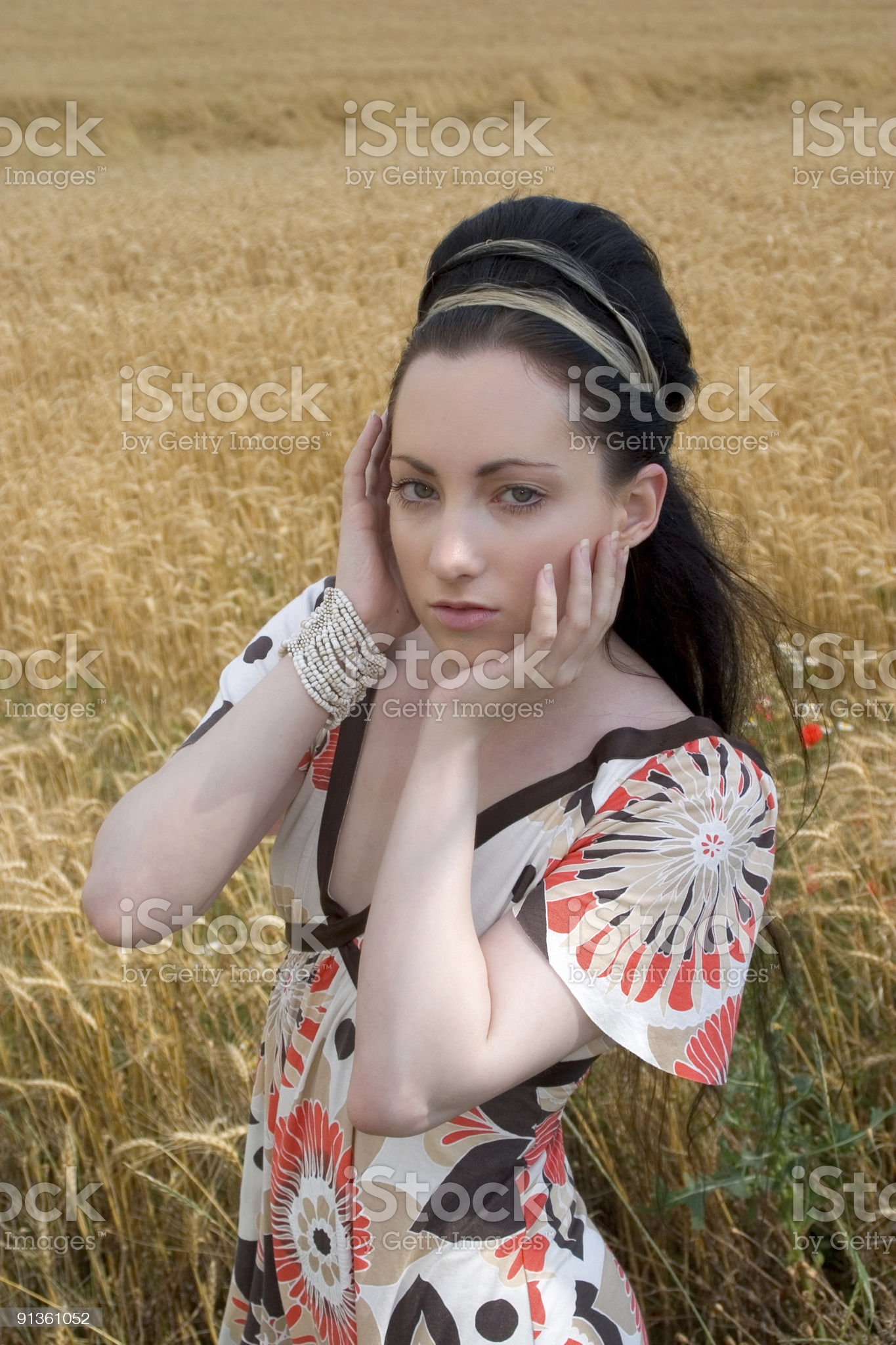female expression art royalty-free stock photo