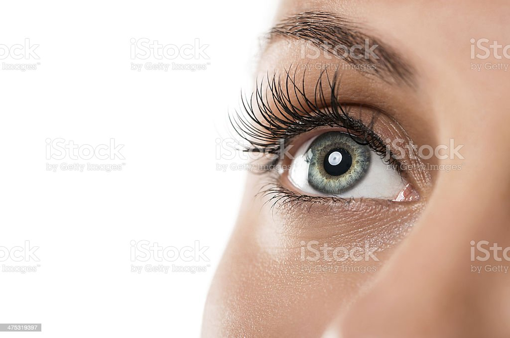 Female eye stock photo