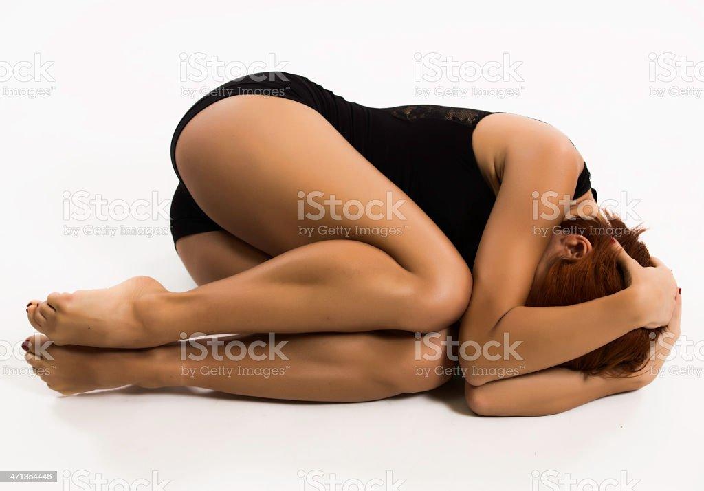 female fetus posizyon stock photo