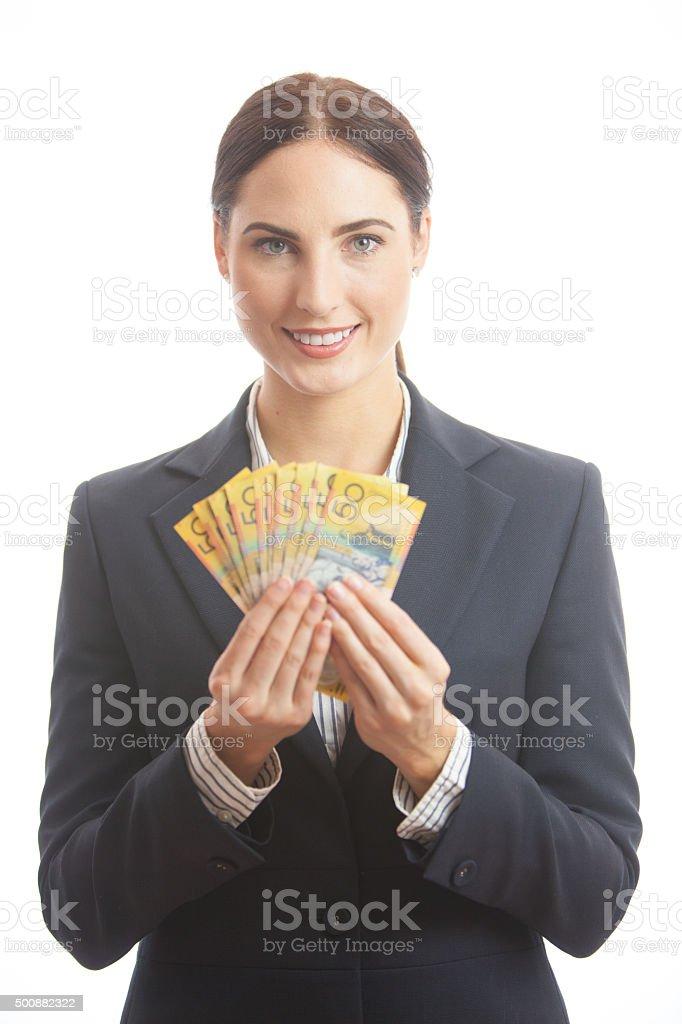 Female Finance Professional stock photo