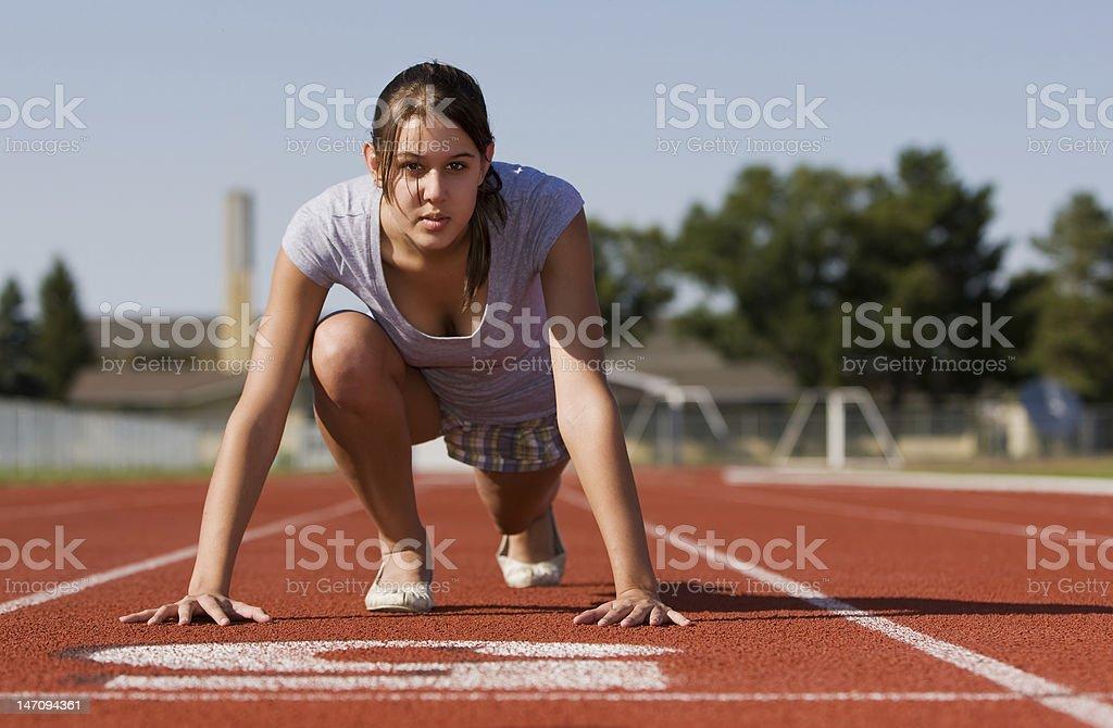 Female fitness royalty-free stock photo