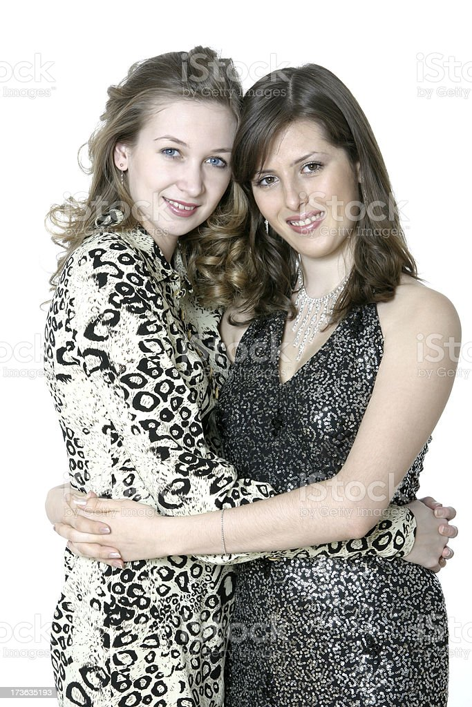 Female friendship royalty-free stock photo