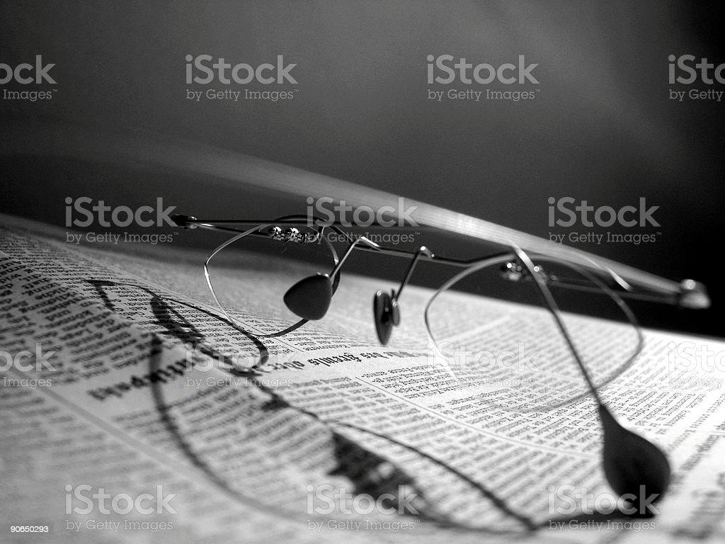 Female Glasses royalty-free stock photo