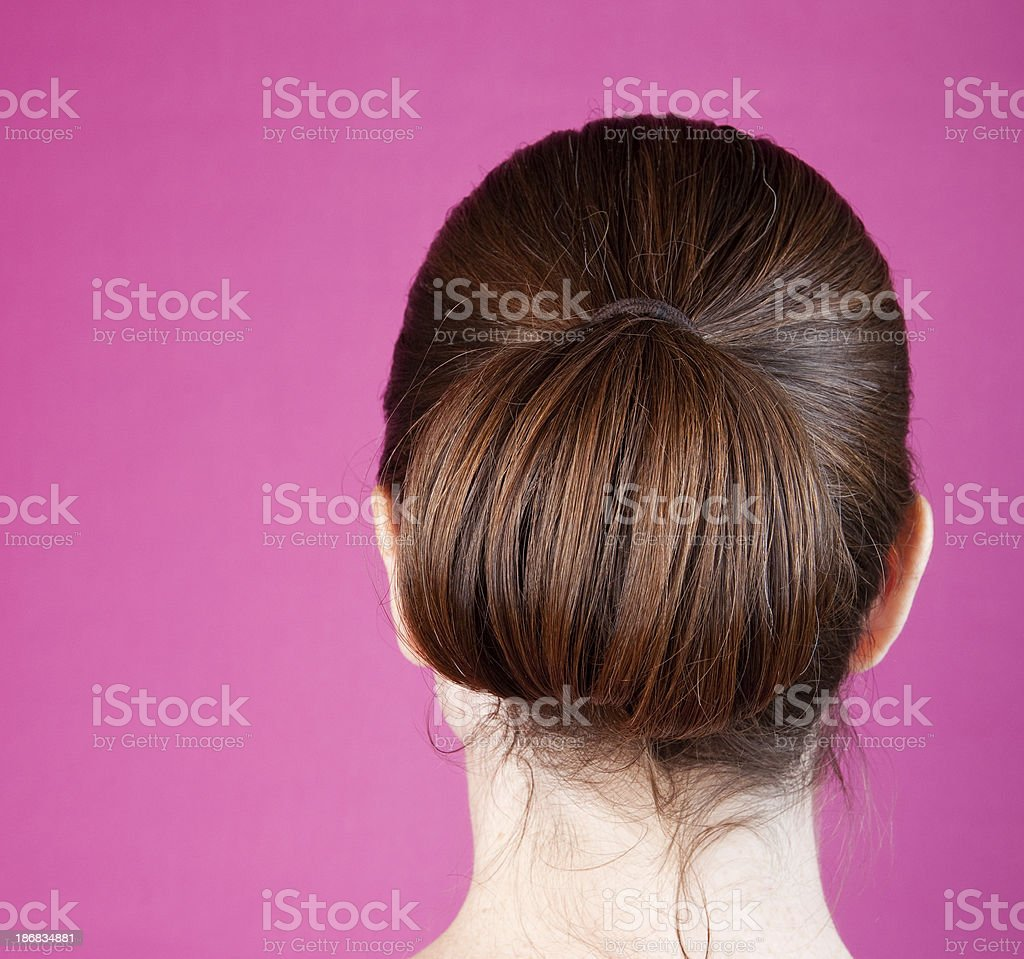 Female Hair Care stock photo