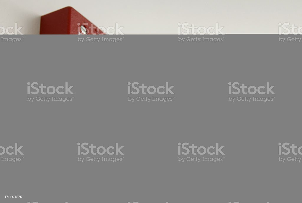 Female Hand Holding out Gift Card stock photo