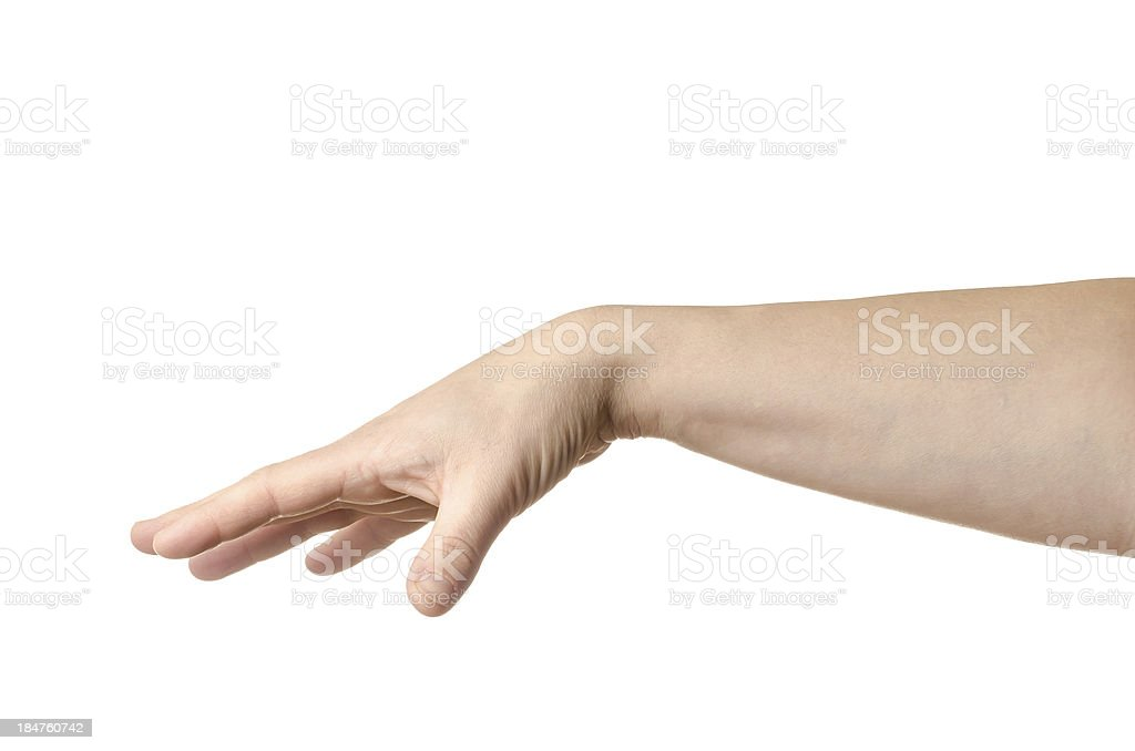 Female hand stock photo