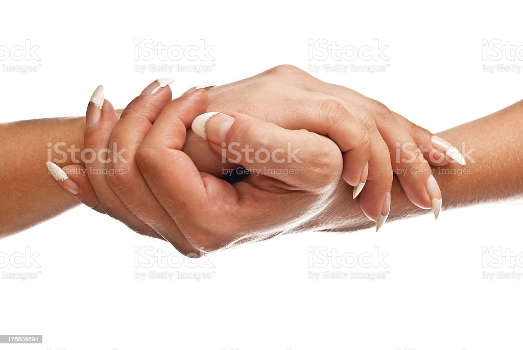 Female hands royalty-free stock photo