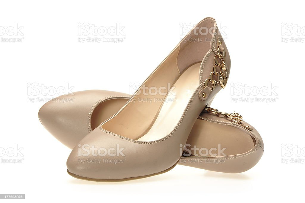 female high-heeled shoes royalty-free stock photo