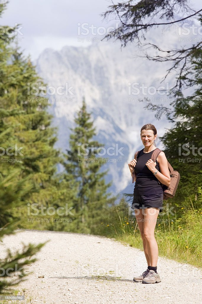 Female Hiker royalty-free stock photo