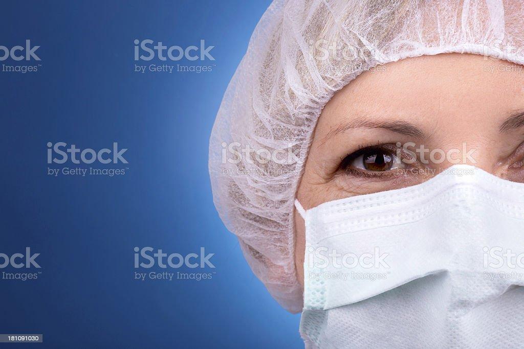 Female hospital doctor royalty-free stock photo
