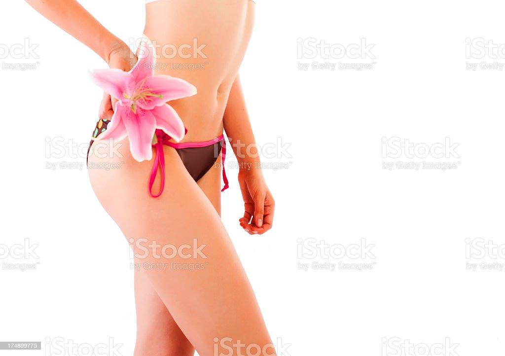 Female in bikini royalty-free stock photo