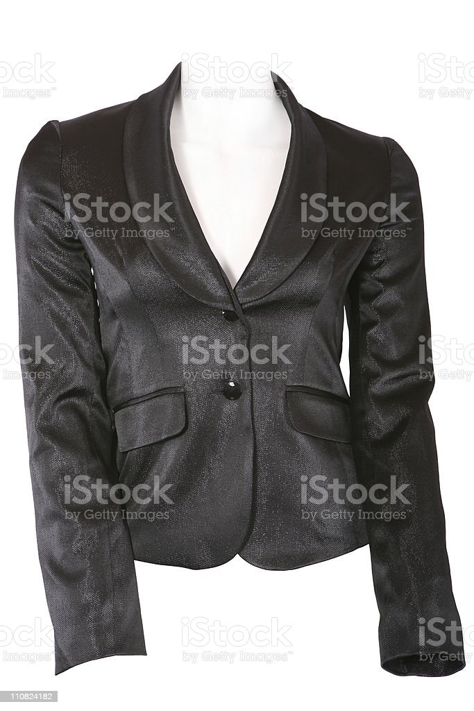 Female jacket royalty-free stock photo