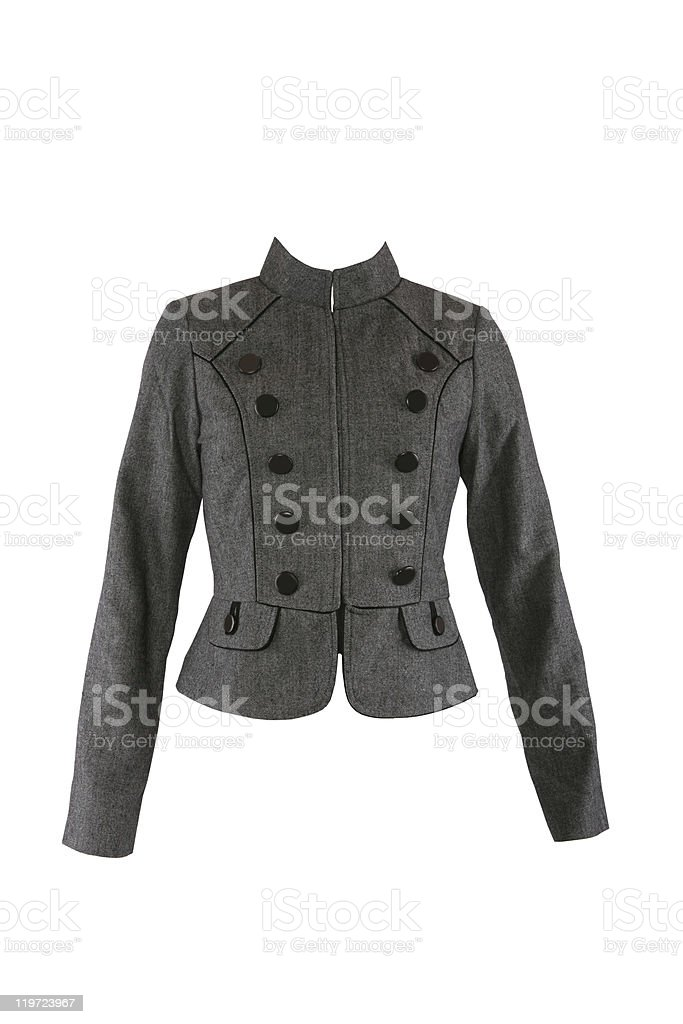 Female jacket royalty-free stock photo
