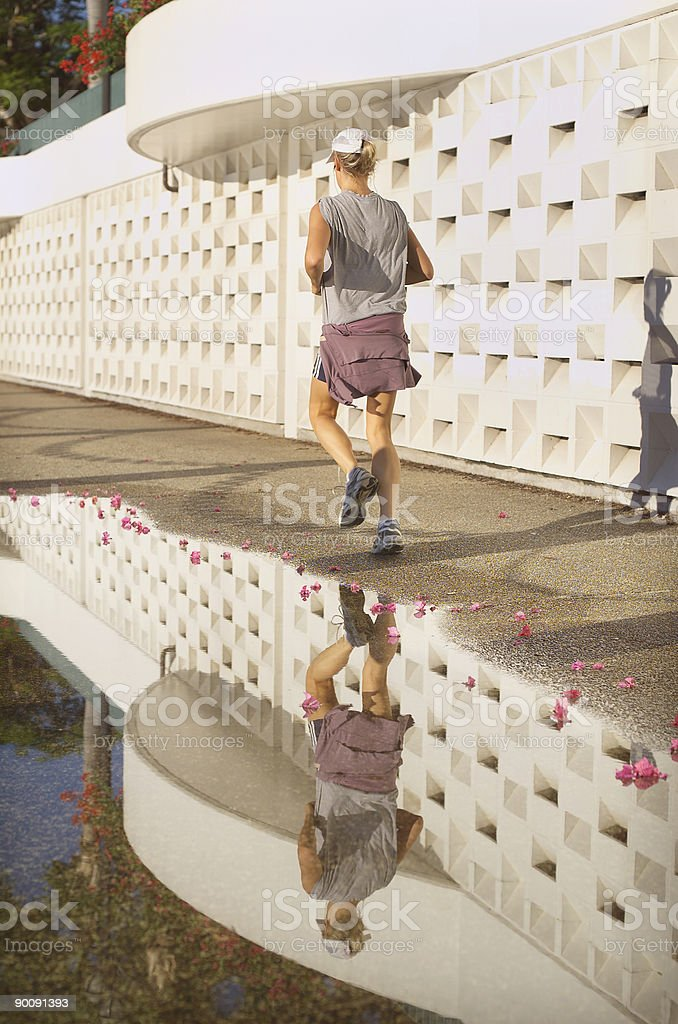 Female Jogger royalty-free stock photo
