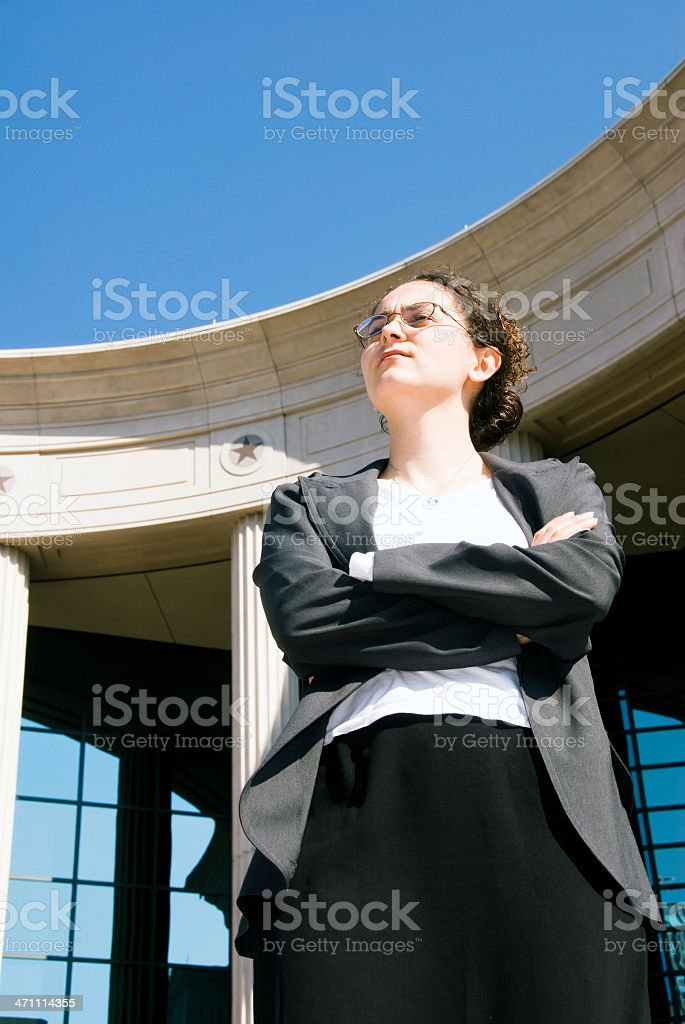 Female Lawyer royalty-free stock photo