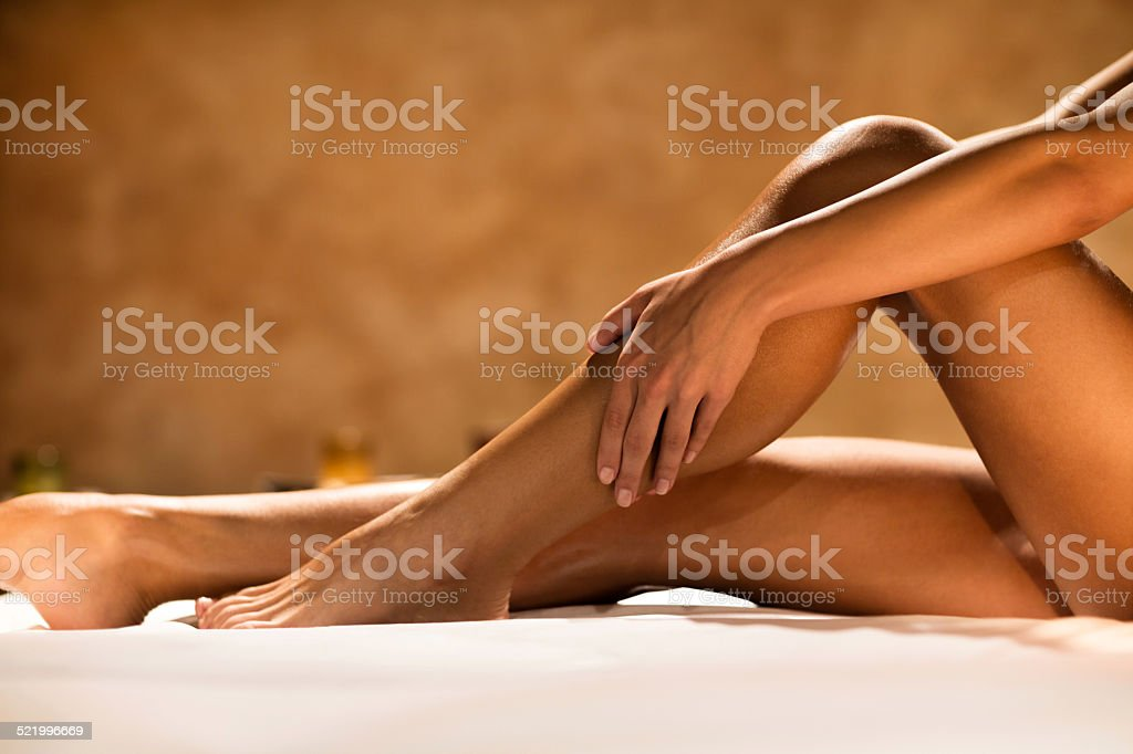 Female legs. stock photo