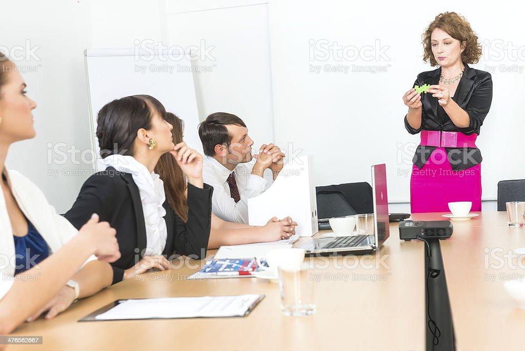 Female manager royalty-free stock photo