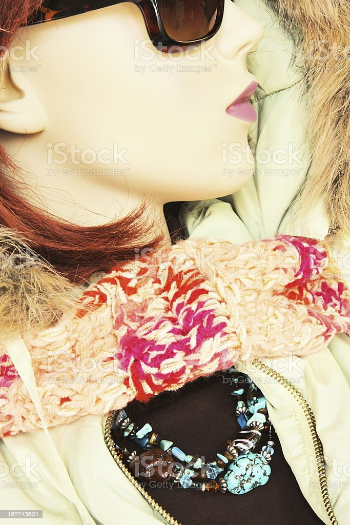Female Mannequin Fashion Clothing royalty-free stock photo