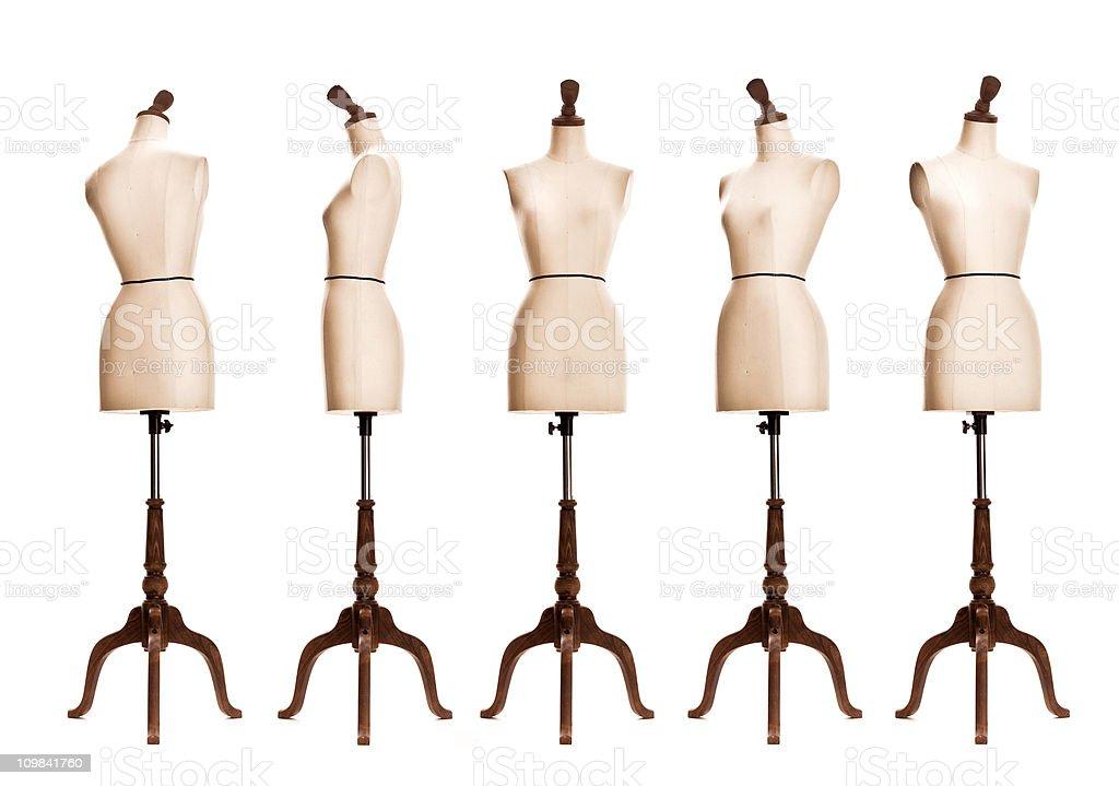 female mannequin torso royalty-free stock photo