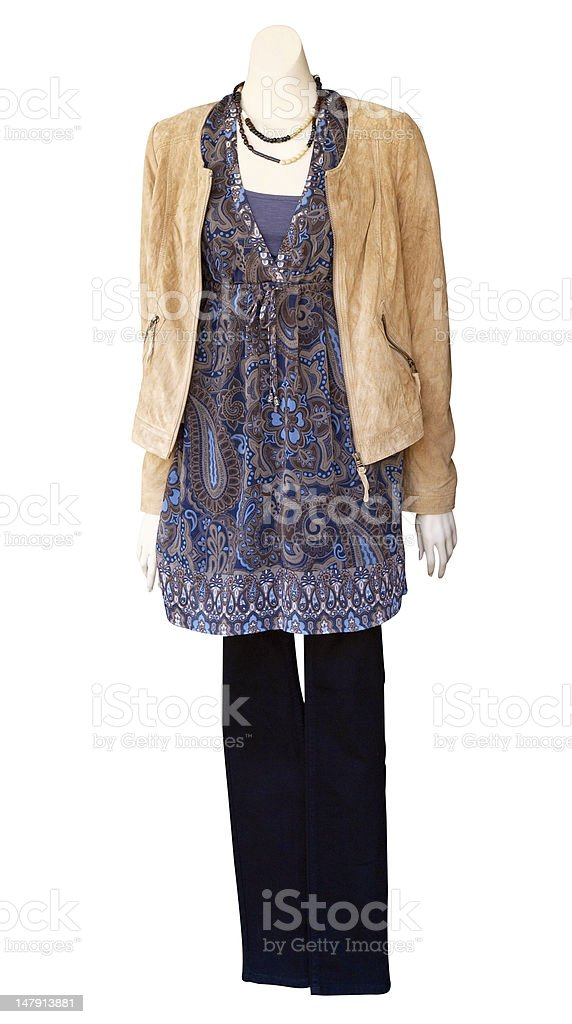 Female Mannequin with Jacket royalty-free stock photo
