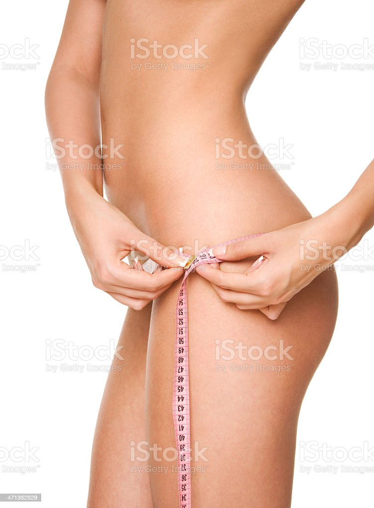 Perfect female body. royalty-free stock photo