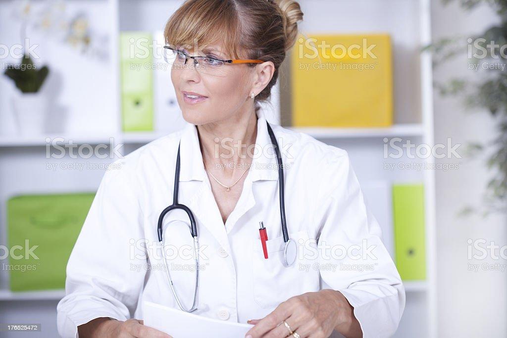Female medical professional royalty-free stock photo