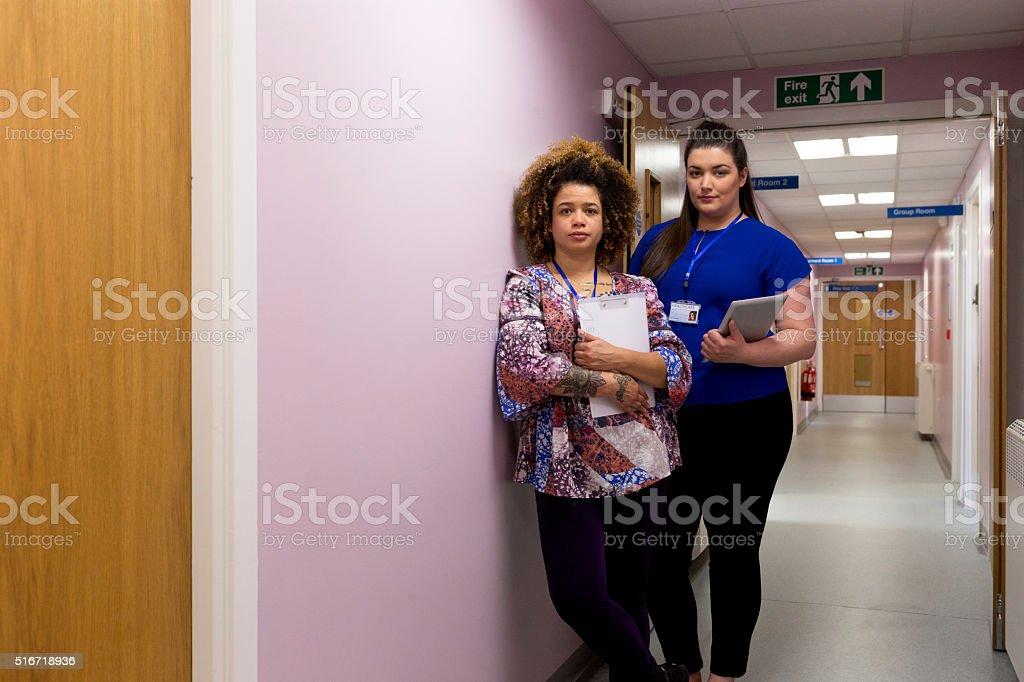 Female Medical Team stock photo
