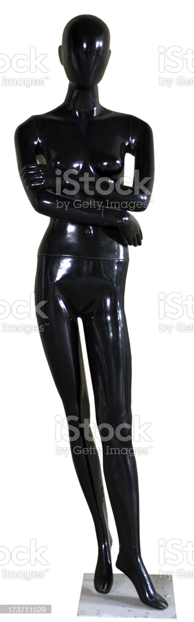 Female model Mannequin royalty-free stock photo