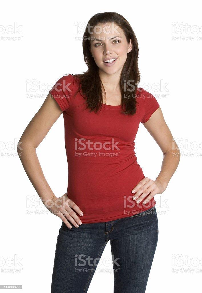 Female model posing royalty-free stock photo